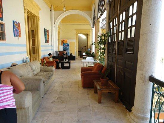 Hostal Zocalo: area comun con wifi