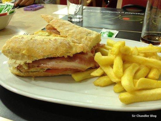 Holiday Inn Express Alcobendas: uno de los platos rápidos del restaurant