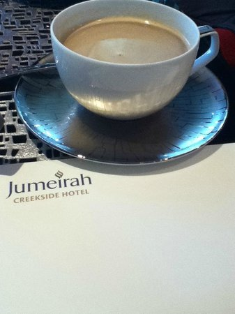 Jumeirah Creekside Hotel:                                     Afternoon tea