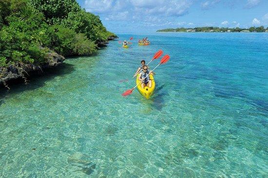 Beachcomber Shandrani Resort & Spa: Kayak - Shandrani Resort & Spa