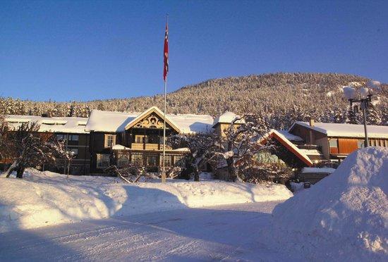 Quality Straand Hotel & Resort: Winter in Straand