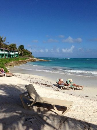 Pineapple Beach Club Antigua - All Inclusive:                                     Beach