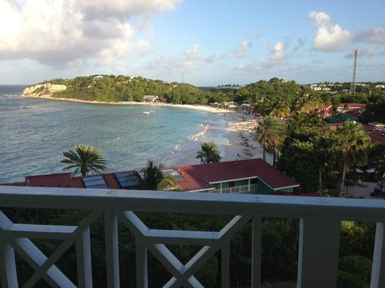 Pineapple Beach Club Antigua:                                     View from Balcony #935