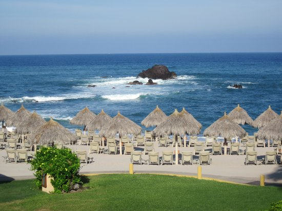Four Seasons Resort Punta Mita:                                     view from room
