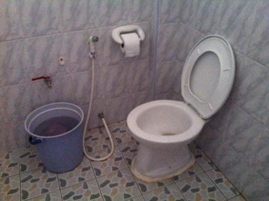 Tamarind Guesthouse :                                     toilet