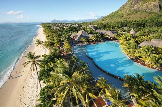 Dinarobin Beachcomber Golf Resort & Spa: Aerial view