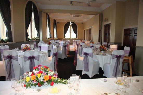 The Racquet Club Hotel & Ziba Restaurant:                                     Function room