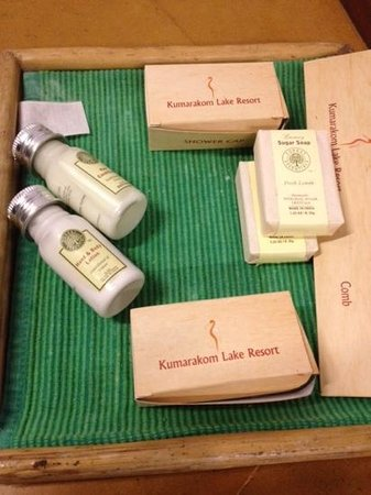 Kumarakom Lake Resort: produits accueil !!! very bad