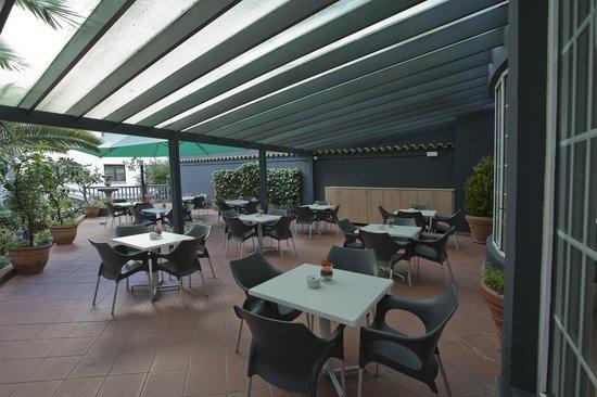 Silken Indautxu Hotel: Terraza