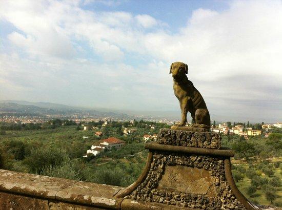Villa La Massa: Villa Gamberaia, View of Tuscan Hills/Florence Suburbs