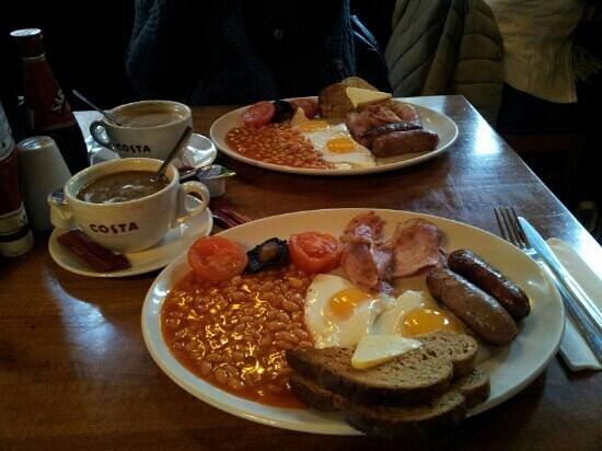 Shakespeare Tavern :                   Full english breakfast