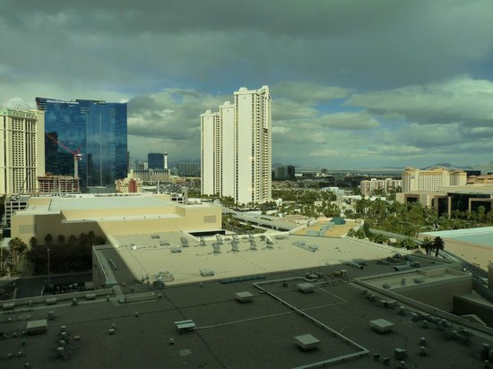 MGM Grand Hotel and Casino: Vue de la chambre