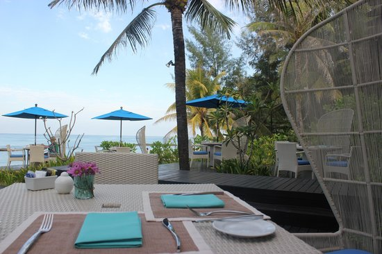 Natai Beach Resort & Spa, Phang-Nga:                                     Breakfast dining