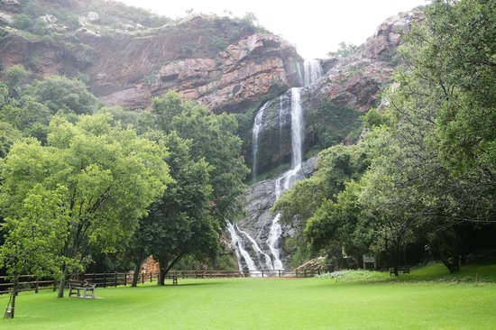 Walter Sisulu National Botanical Gardens: Waterfall view