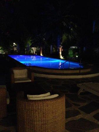 Su Hotel:                   Pool by night