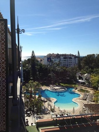 H10 Andalucia Plaza:                   View from room 509