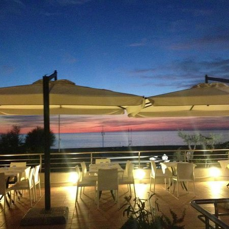 Tirrenia, Italië: terrazza stupenda