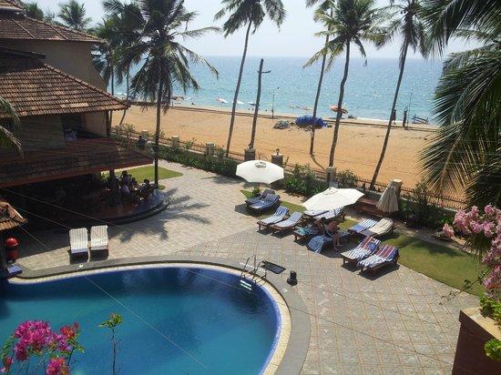 Uday Samudra Leisure Beach Hotel & Spa: view