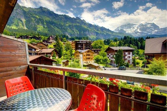Hotel Edelweiss: Balkon