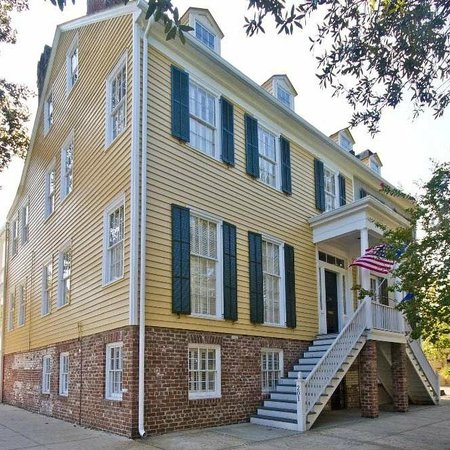 Savannah Historic District:                   Bird Baldwin House - 201 W Liberty Street