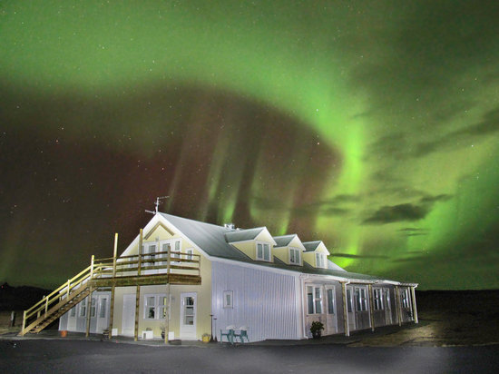 Hotel Laekur : Hotel Lækur(laekur) is a magnificent place to see the northern lights