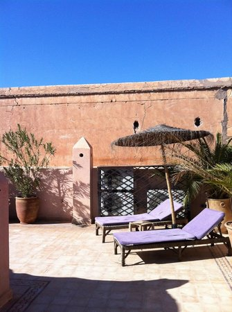 Hotel Riad Beldi :                                     on the roof 2