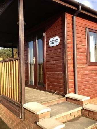 Solway Holiday Village:                   outside North Lakes 1