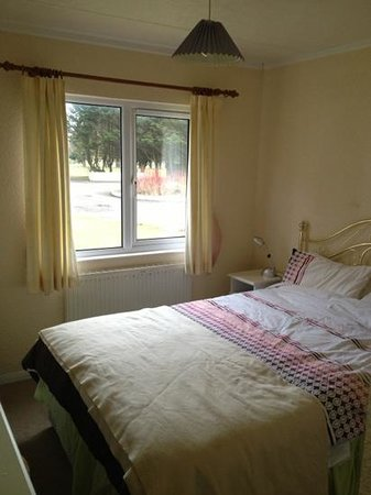 Solway Holiday Village :                   main Bedroom with en-suite ;)
