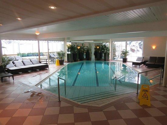 Hotel Astoria :                   The pool