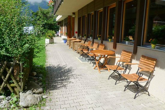 Hotel Edelweiss: Aussenbereich