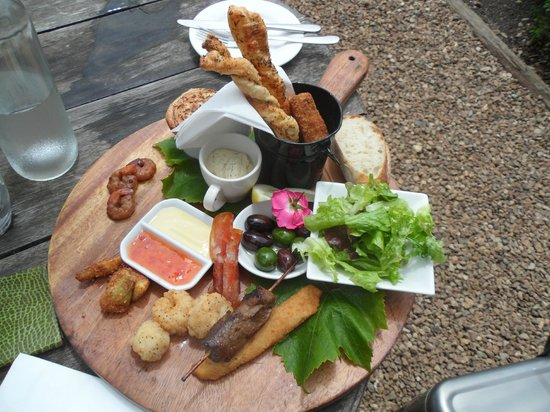 Mudbrick Vineyard : Lunch Platter