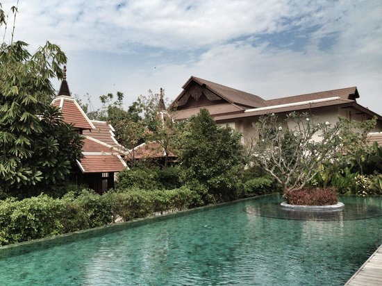 Siripanna Villa Resort & Spa:                   遠景