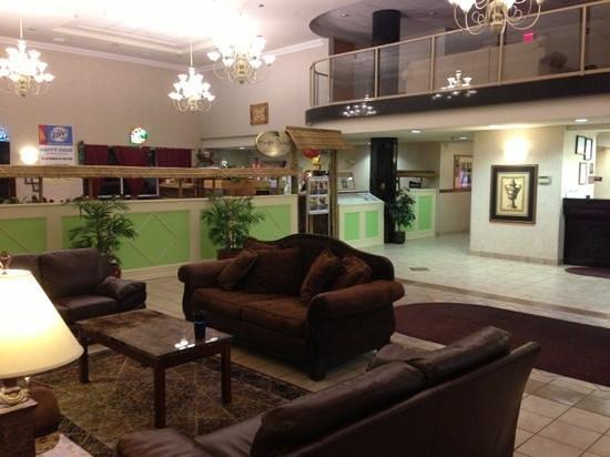 Ramada Seatac Airport:                   Lobby at Ramada Inn and Suites SEATAC WA