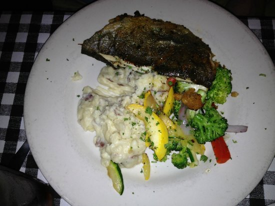 Guido's Restaurant:                                     Trout