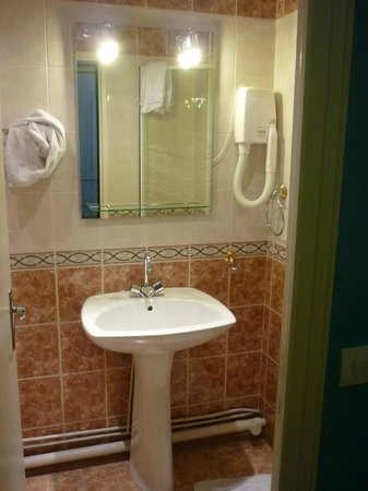 Hotel Audran: bagno