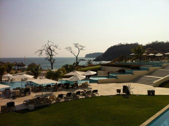 Secrets Huatulco Resort & Spa:                   View from lobby
