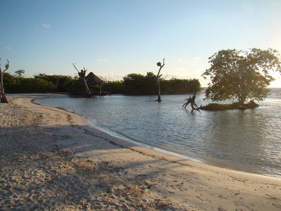 Hacienda Tres Ríos:                   Wading Area in Caribbean