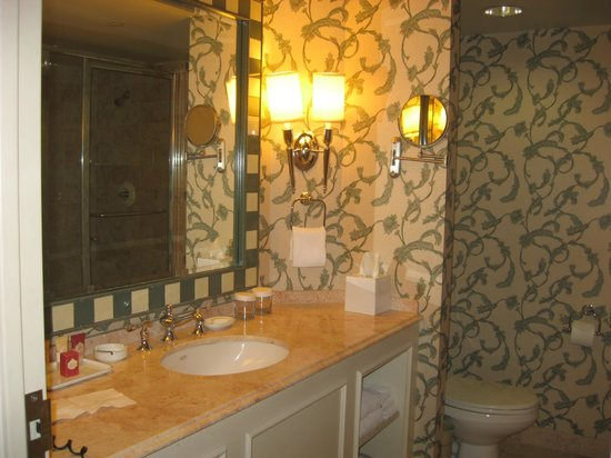 Paris Las Vegas:                   bathroom