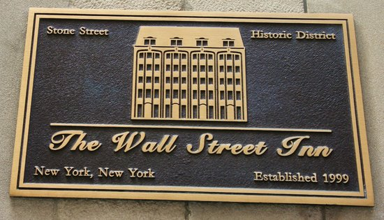 The Wall Street Inn:                   Wall Street Inn