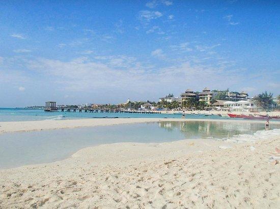 Hotel El Tukan:                   stranden 1 min bort