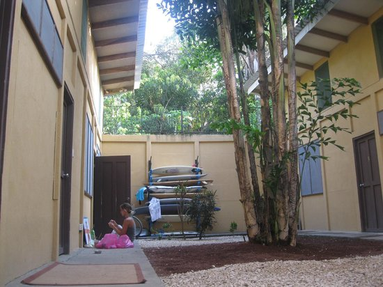 Nosara Beach Hostel :                                                       very safe
