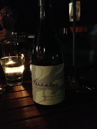 Pulp Kitchen:                   Fred's Harvest - Drink Local vine!!!