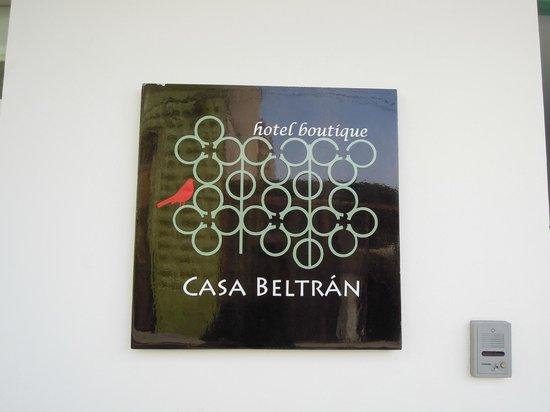 Hotel Casa Beltran:                   Facha Hotel 1
