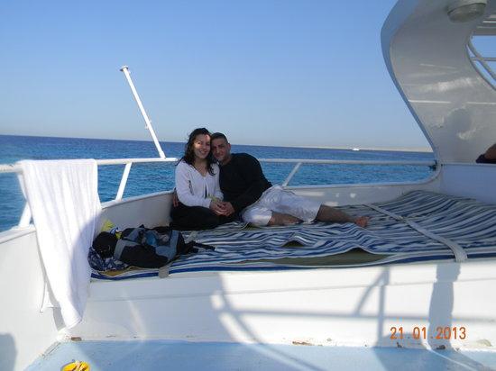Mercure Hurghada Hotel:                   moi et ma femme