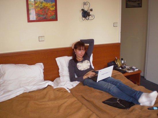 Hotel Brice:                   Наш номер на двоих