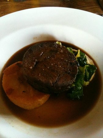 The Pheasant Inn: Twice cooked blade of Aberdeenshire beef