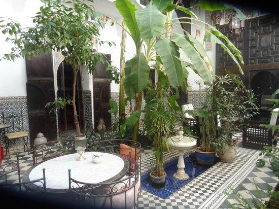 Dar Mouassine :                                     le patio