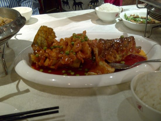 Hilton Beijing Wangfujing:                   Dinner in the restaurant