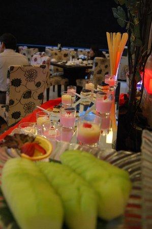 Scarlet Dago Hotel:                                     Part of the dessert spread for breakfast
