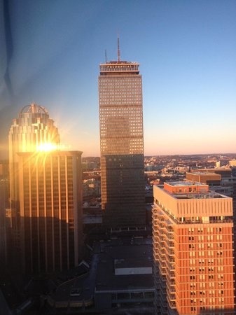 The Westin Copley Place, Boston:                   View of the Prudential from our room.